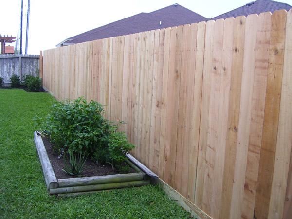 Dog Ear 2 215 6 Base Cactus Fence A Houston Fence Company