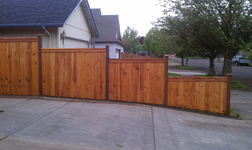 Custom Wood Fence Cactus Fence A Houston Fence Company