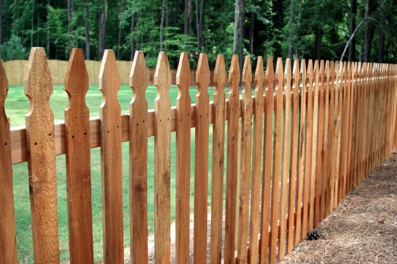 Decorative Wood Fences