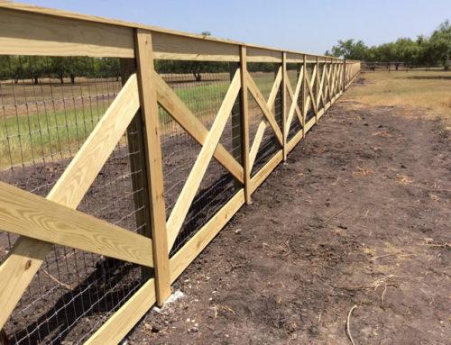 Ranch Fence 4 Cactus Fence A Houston Fence Company