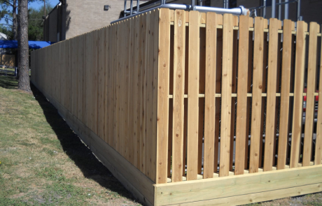 Shadow Box Fence Cactus Fence A Houston Fence Company