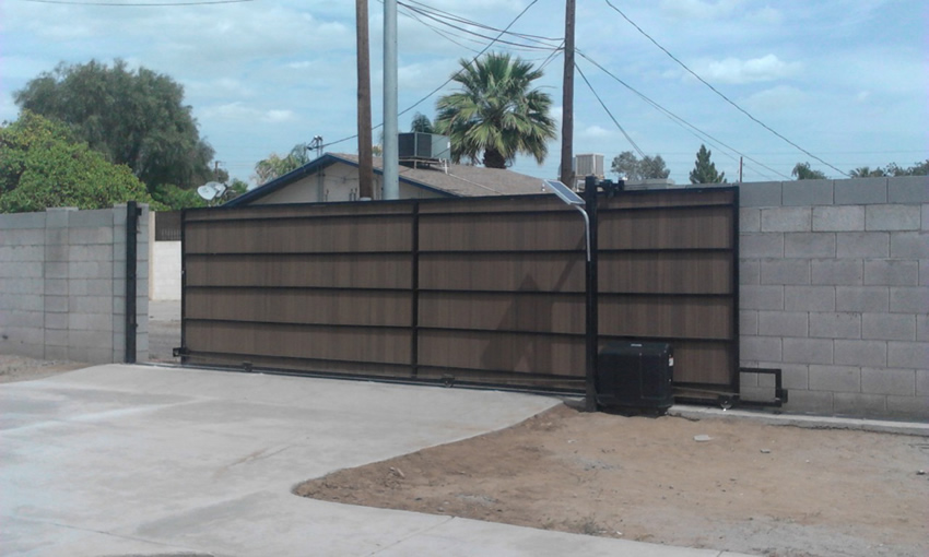 Usautomatic Patriot Opener Install Cactus Fence A Houston Fence