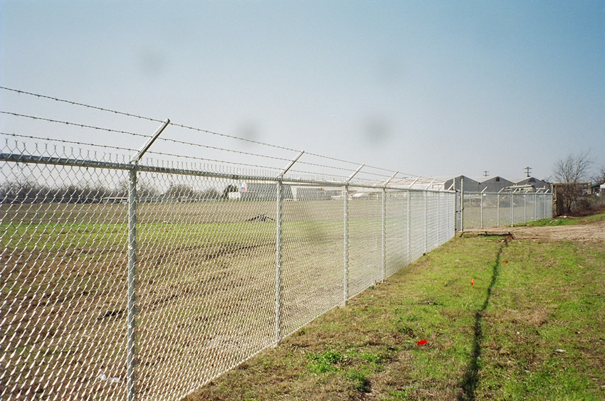 Ft chain link security fence cactus a houston