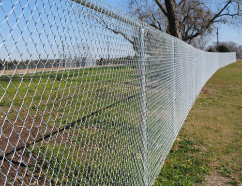 7ft Chain Link Security Fence Cactus Fence A Houston