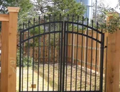 Custom Walk Gate Cactus Fence A Houston Fence Company