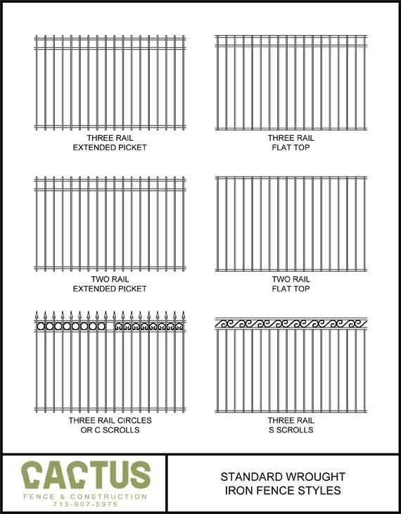 Fence styles cactus a houston company